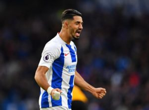 Beram Kayal says he is keeping his fingers crossed he will be able to play in Brighton's final two Premier League games this season.