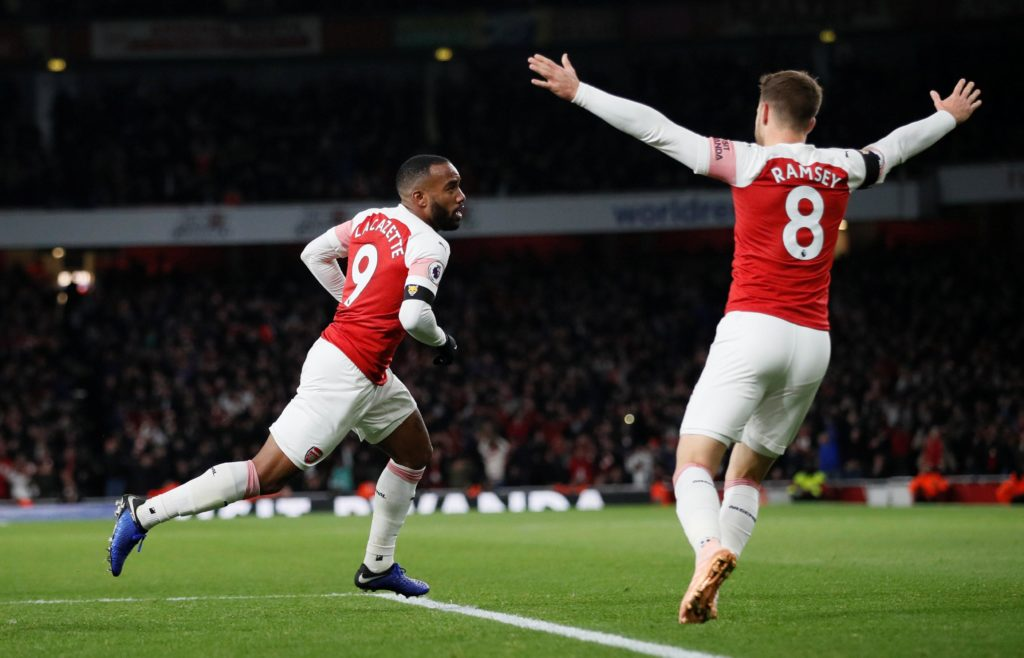 Arsenal star Alexandre Lacazette says the Gunners are improving all the time under the stewardship of Unai Emery.