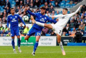 Cardiff City striker Gary Madine could be set for talks about a permanent move to promoted Sheffield United, according to reports.