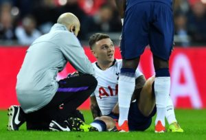 Tottenham are considering allowing England defender Kieran Trippier to leave the club this summer.