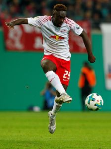 RB Leipzig striker Jean-Kevin Augustin looks as though he will be on his way from the club in the summer.