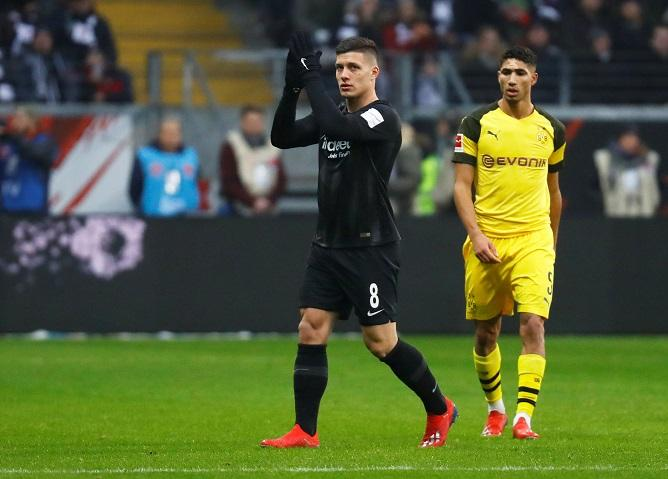 Inter made a fresh check on Eintracht Frankfurt's Luka Jovic on Thursday but the player's father says he wants to stay in Germany.