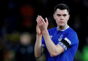 Michael Keane has recovered from illness and will hope to go straight back into the Everton line-up for Saturday's game at Fulham.