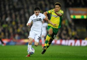 Swansea City winger Dan James could be set for a move to Manchester City, where he will be then loaned out, according to reports.