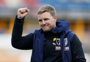 Boss Eddie Howe says it's important to maintain perspective on how far Bournemouth have come when assessing their present situation.