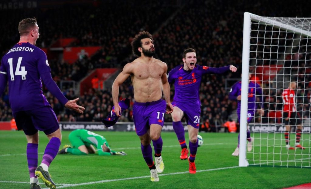 Liverpool moved back to the top of the Premier League courtesy of a come-from-behind 3-1 win at Southampton on Friday night.