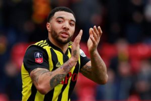 Watford striker Troy Deeney believes the only way is up for the Hornets after they stunned Wolves to progress to the FA Cup final.