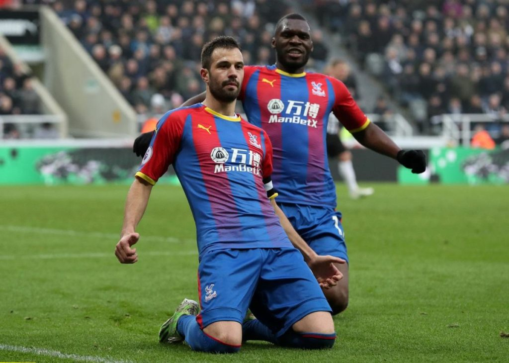Luka Milivojevic's penalty proved decisive as Crystal Palace claimed a huge 1-0 victory at Newcastle on Saturday.