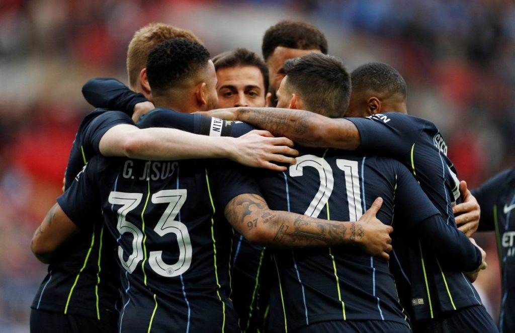 Manchester City's quadruple dream remains intact after they beat Brighton 1-0 in the semi-finals of the FA Cup.