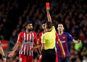 Diego Costa could be hit with an eight-game ban on Wednesday – and that could spell the end of his Atletico Madrid career.