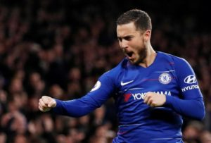 Real Madrid target Eden Hazard remains focused on seeing out the season with Chelsea, not worrying about where he will be next season.