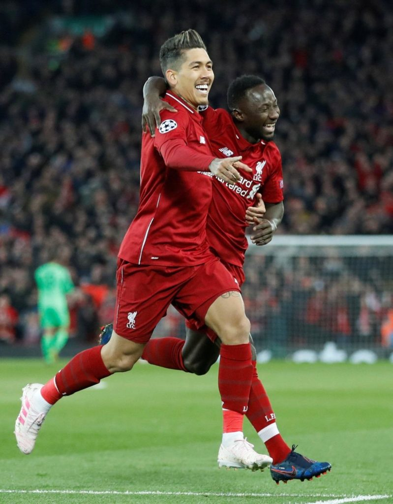 Liverpool will take a two-goal lead to Porto for their Champions League quarter-final second leg following a 2-0 win at Anfield.