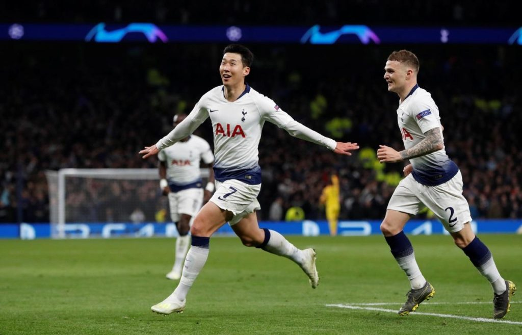 Son Heung-min is likely to start in a central role for Spurs against Huddersfield on Saturday in the absence of Harry Kane.