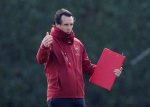 Arsenal boss Unai Emery has confirmed Pierre-Emerick Aubameyang is fit to start the Europa League quarter-final first leg against Napoli tonight.