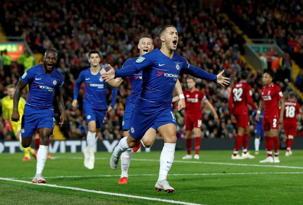Chelsea will look to continue their remarkable run in the Europa League when they welcome Slavia Prague to Stamford Bridge on Thursday.