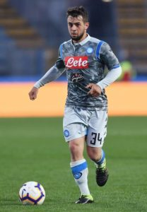 Amin Younes says he is happy at Napoli and had no intention of leaving the club during the January transfer window.