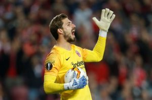 Kevin Trapp is confident two away goals will be enough to ensure Eintracht Frankfurt can eliminate Benfica from the Europa League.
