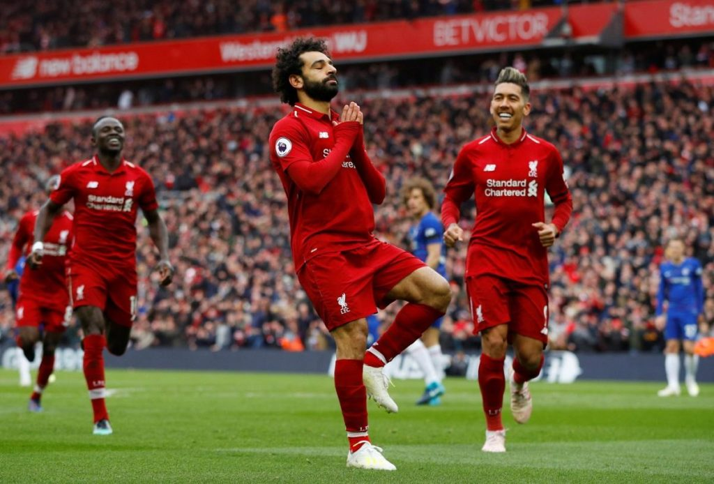 Liverpool jumped back above Manchester City to the top of the Premier League table courtesy of a 2-0 win against Chelsea at Anfield.