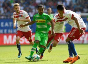 Borussia Monchengladbach forward Raffael says his side are desperate to qualify for next season's Champions League.