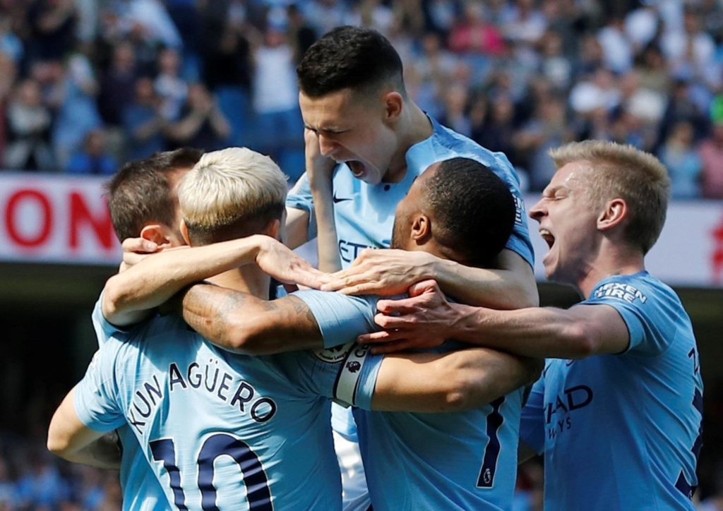 Phil Foden's first Premier League goal was enough for Man City as they got the better of Tottenham to reclaim top spot in the table.