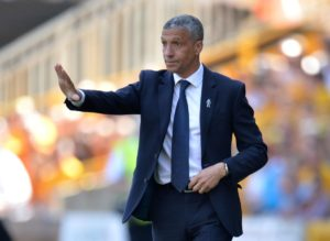 Brighton gave their Premier League survival bid a slight boost after holding Wolves to a 0-0 draw at Molineux.