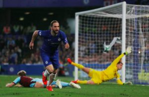Chelsea moved back into the Premier League's top four places despite being held to a 2-2 draw against Burnley at Stamford Bridge.