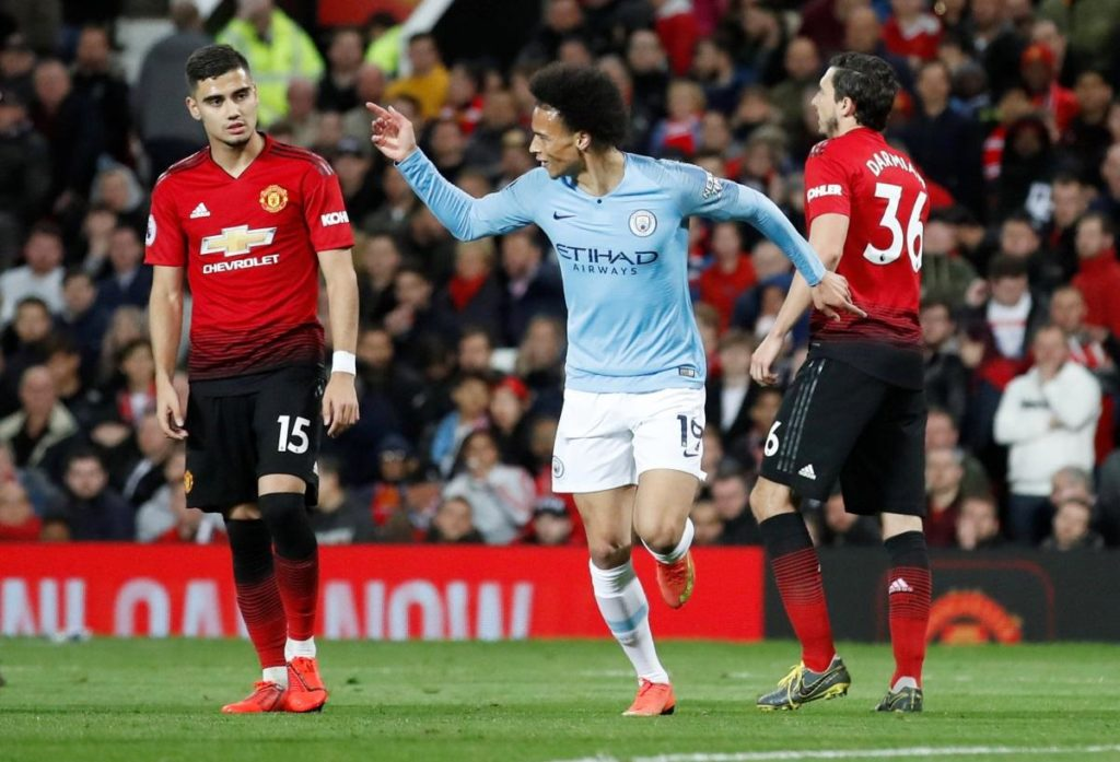 Leroy Sane believes Manchester City's derby victory will give them huge confidence as they look to wrap up the Premier League title.