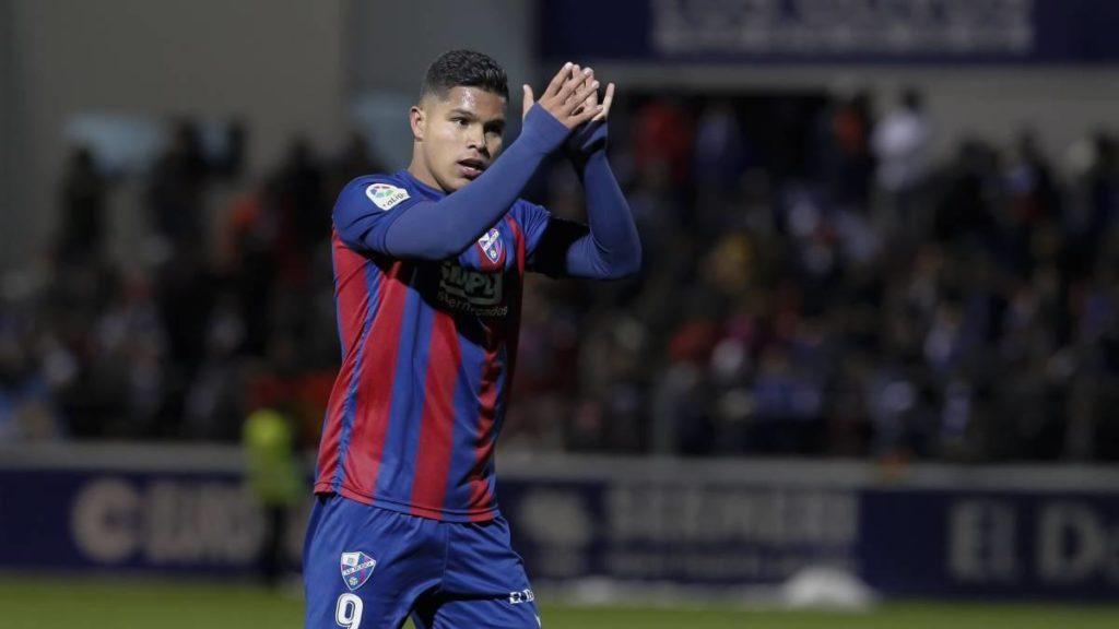 Huesca's on-loan Watford striker Juan Camilo Hernandez says he wants to stay in the Spanish top flight next season.