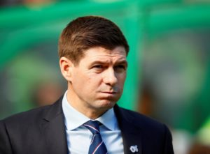 Rangers boss Steven Gerrard says securing second place is not good enough for the club as he tries to help them challenge for honours.