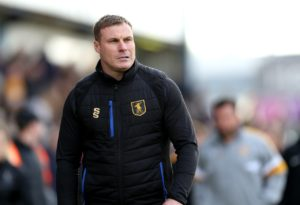 Mansfield have sacked manager David Flitcroft after the Stags lost their Sky Bet League Two play-off semi-final to Newport.