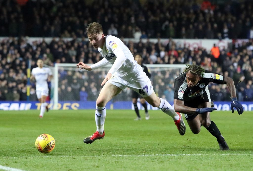 Tottenham are again showing interest in Leeds teenager Jack Clarke after initially being linked with him in January.