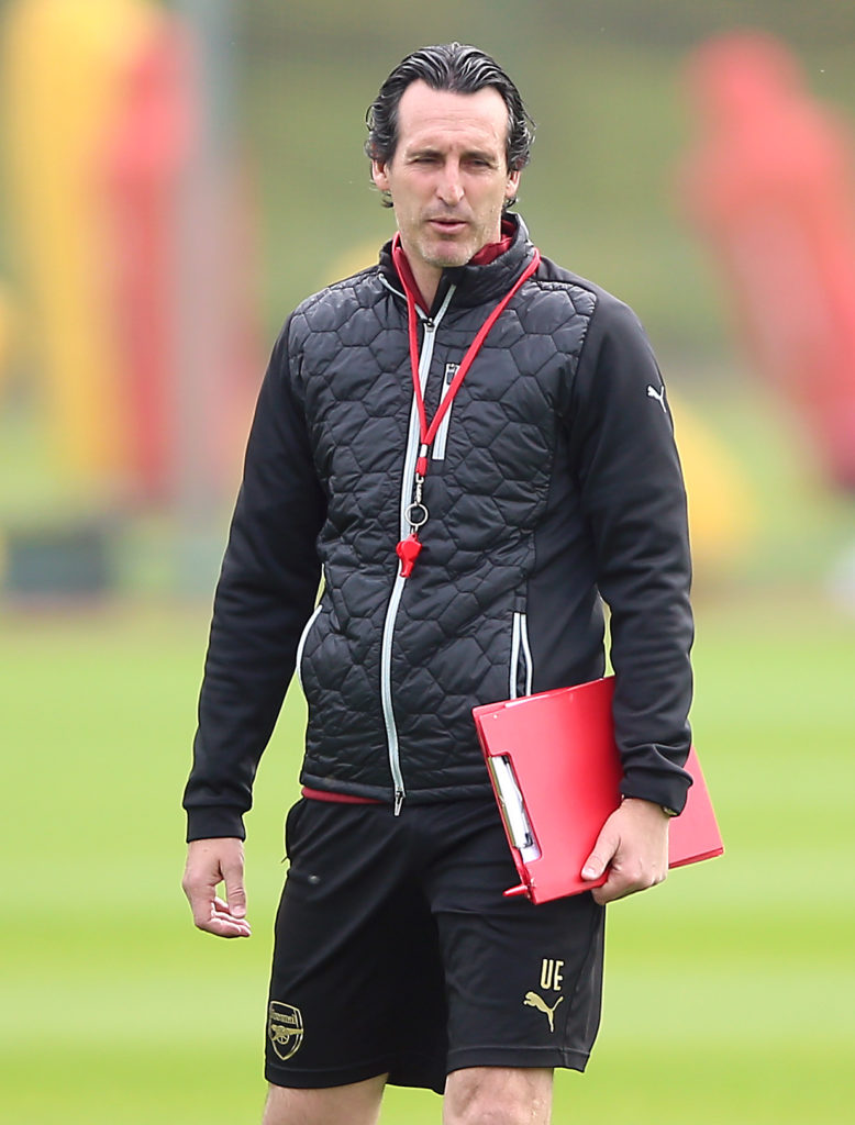 Unai Emery insists his Arsenal side are fully focused on winning the Europa League trophy and not Champions League qualification.