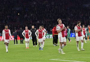 Ajax defender Matthijs de Ligt has admitted he might have played his last home game for the club but says no move has been agreed.