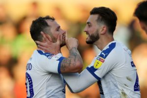 James Norwood struck his 32nd goal of the season to help take Tranmere to Wembley for the Sky Bet League Two play-off final against Newport.