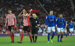 Sunderland will appeal against Alim Ozturk's red card in the first leg of their League One play-off semi-final against Portsmouth.