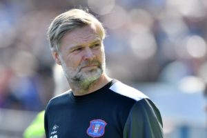 Carlisle manager Steven Pressley admits that he is disappointed that his team could not sneak into the League Two play-offs.