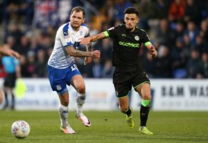 Forest Green Rovers defender Liam Shephard has undergone knee surgery following the Sky Bet League Two club's failure to reach the play-off final.