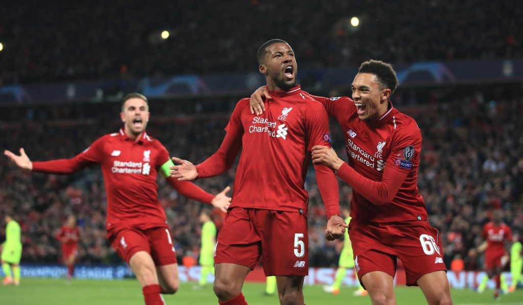 Reds midfielder Georginio Wijnaldum says Liverpool's efforts this season deserve to be rewarded with some silverware.