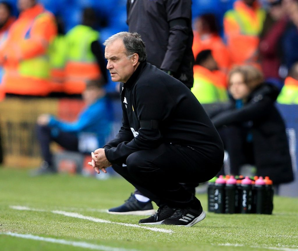 Marcelo Bielsa said the 3-2 defeat at Ipswich on Sunday was difficult to take but believes he can lift Leeds for the play-offs.