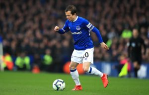 Bernard says he has enjoyed the learning curve of his first season with Everton and is confident he will be even better next season.