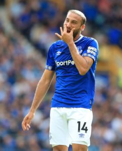 Borussia Dortmund are reported to be weighing up a swoop for Everton striker Cenk Tosun.