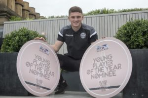 Rangers-bound Jake Hastie is remaining tight-lipped on his impending move to Ibrox - but admits he has been left dazed by his whirlwind rise to the top.
