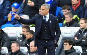 Brighton are on the lookout for a new manager after confirming Chris Hughton has left the Amex Stadium with immediate effect.