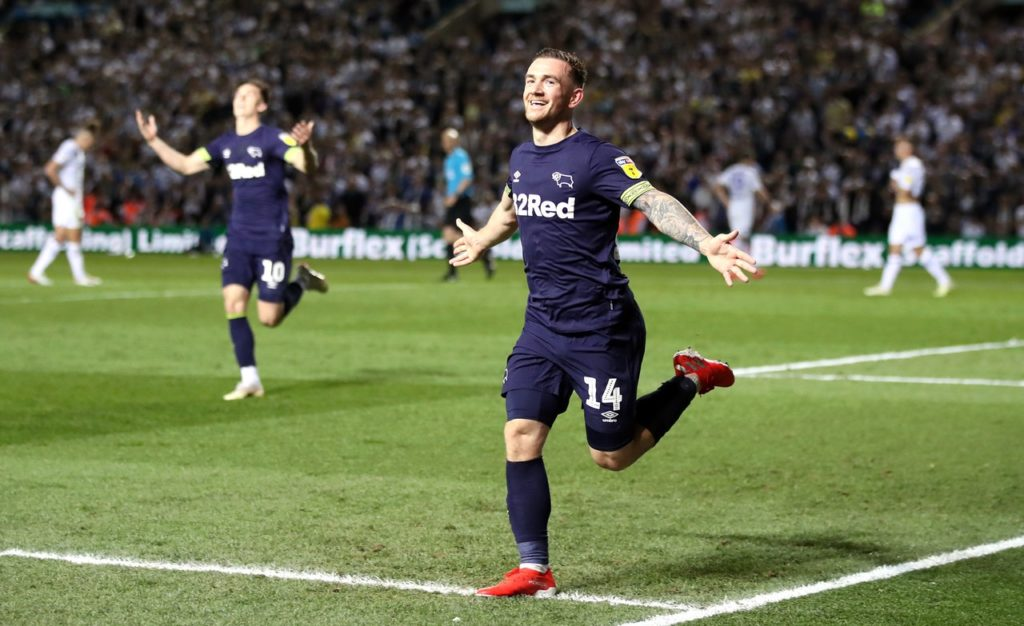 Striker Jack Marriott believes Derby are ready to compete in the Premier League ahead of the play-off final with Aston Villa.