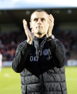 St Mirren boss Oran Kearney has warned play-off rivals Dundee United his side have definitely improved since their last meeting.