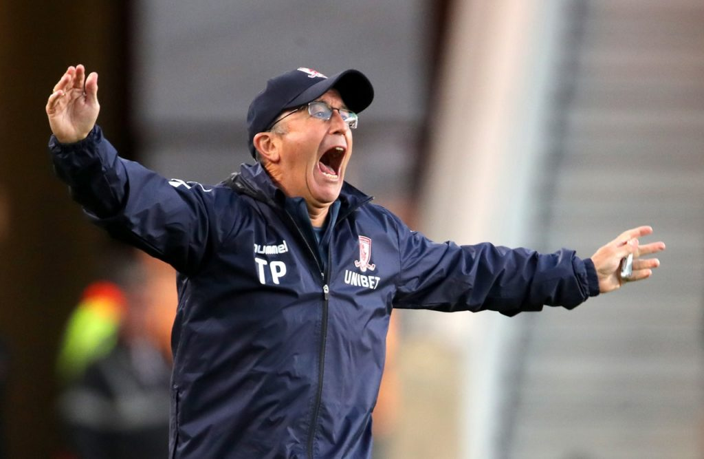 Tony Pulis will reportedly end his 18-month tenure as Middlesbrough boss after talks with chairman Steve Gibson this week.