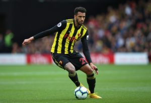 Etienne Capoue was named Watford's Graham Taylor OBE Player of the Season at Thursday night's award ceremony.