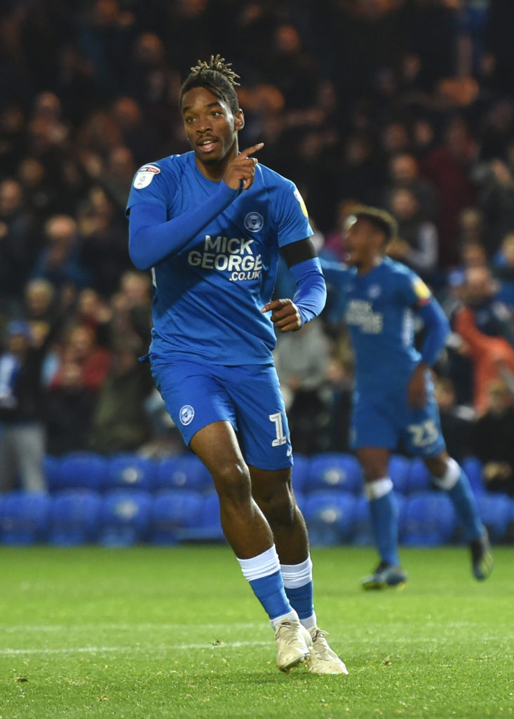 Portsmouth have condemned the 'abhorrent' racist message sent to Peterborough forward Ivan Toney following Posh's 3-2 win at Fratton Park on Tuesday night.