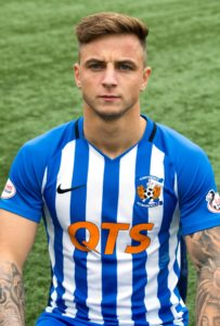 Eamonn Brophy's first-half penalty was enough to send Kilmarnock back into third place in the Ladbrokes Premiership.