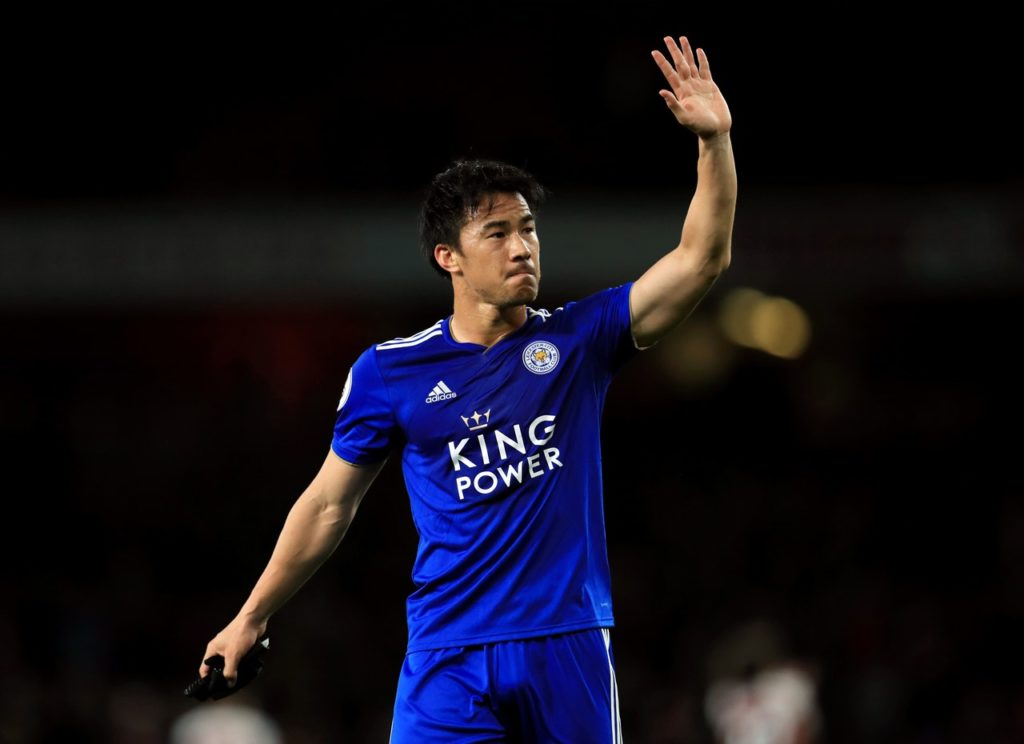 Shinji Okazaki says he will look back fondly on his time with Leicester City after playing his final game for the club against Chelsea.